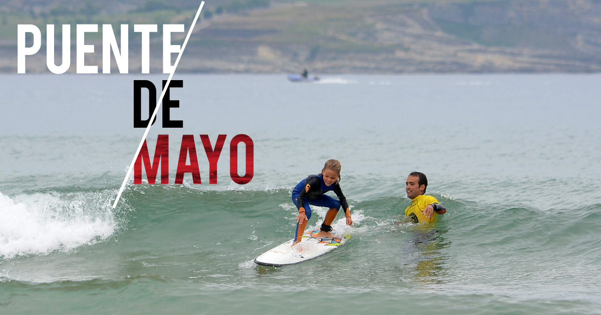 Surfing Puente de Mayo