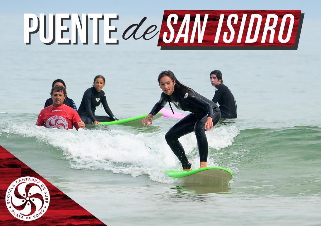 Surf en el puente de san isidro