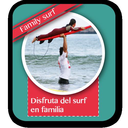 regala surf en familia