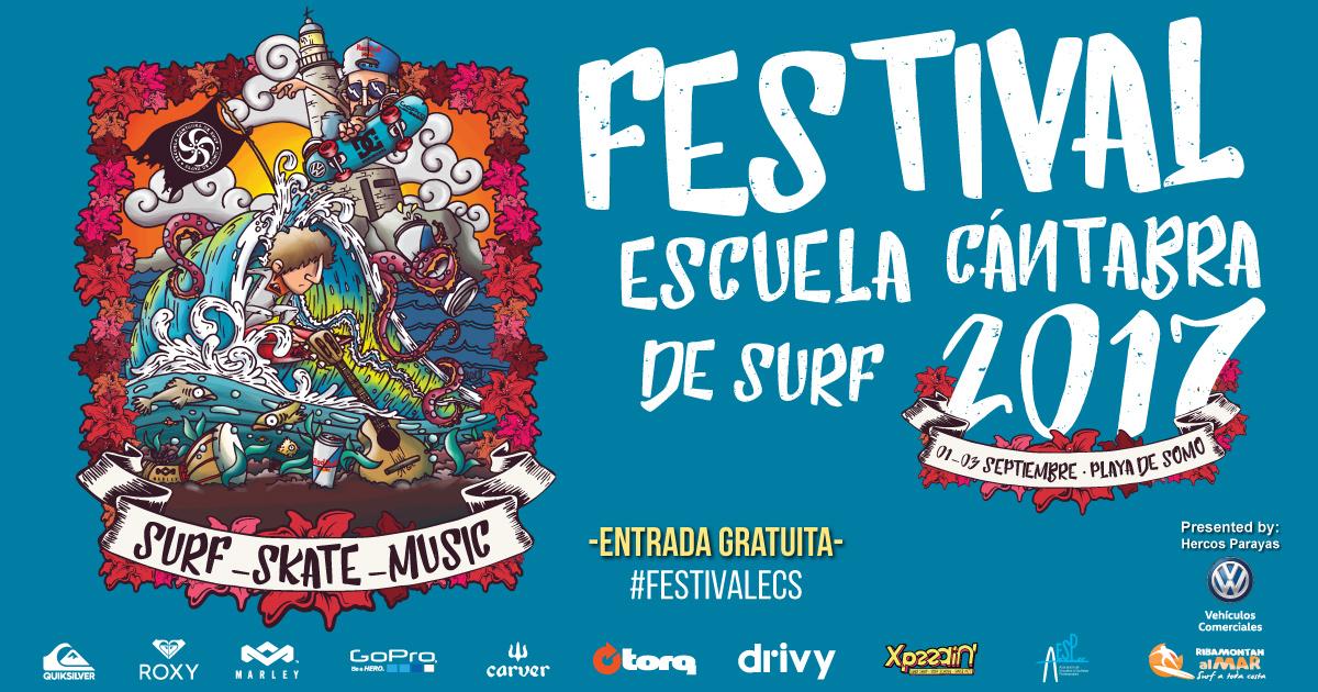 8º Festival Escuela Cántabra de Surf