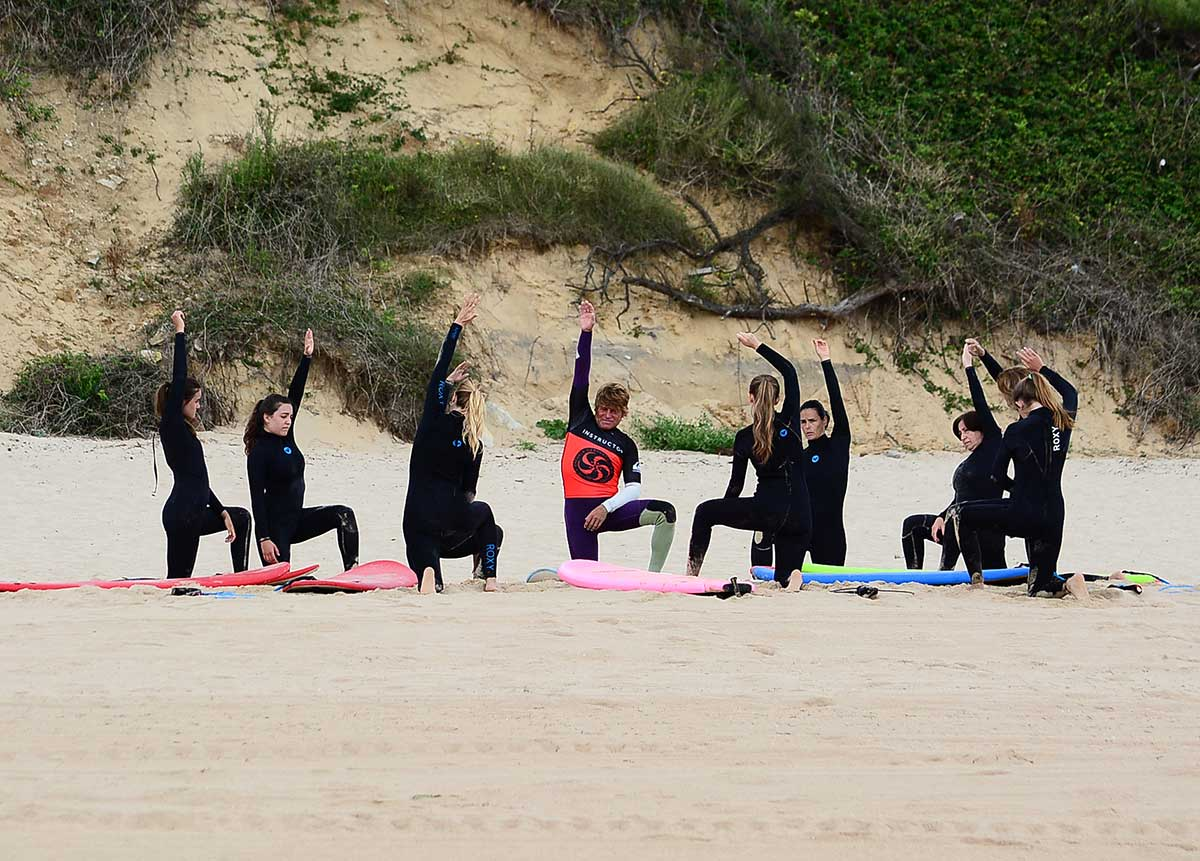 The best warm-up exercises before surfing