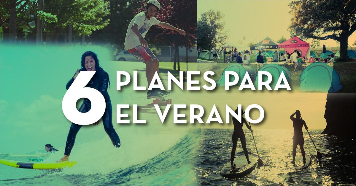 6 planes divertidos para este verano