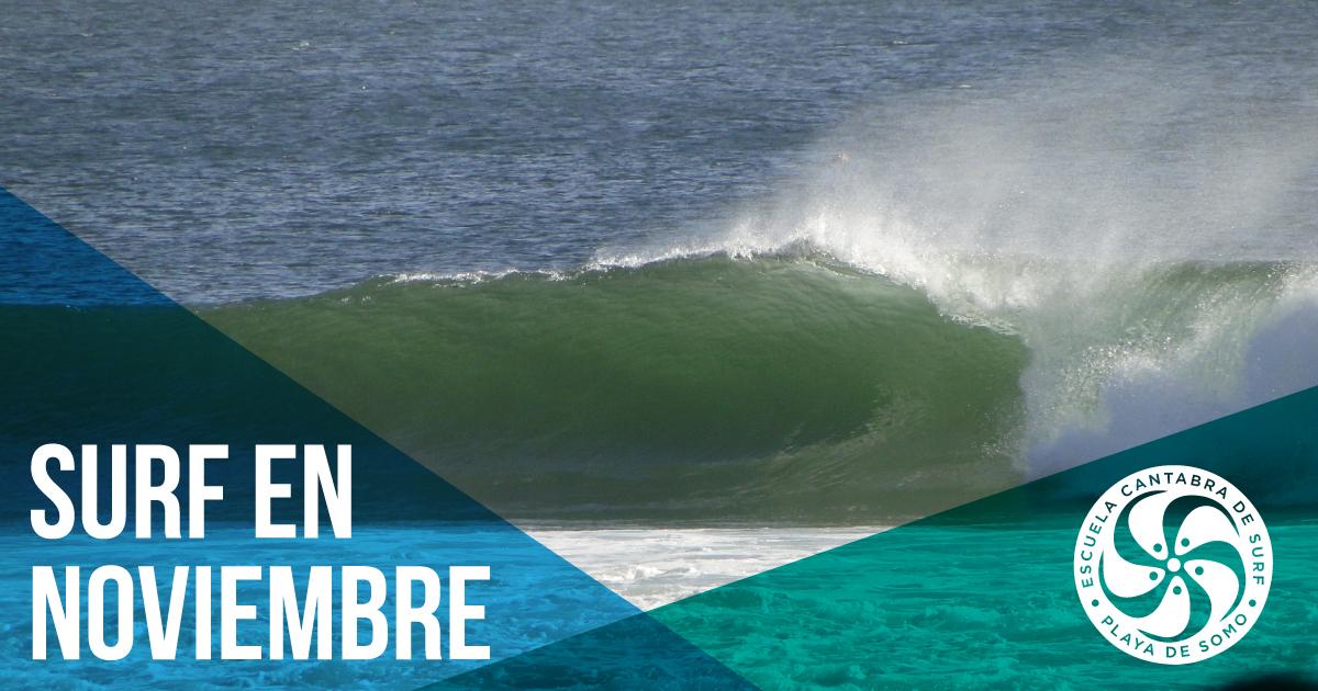 Surfear en Noviembre