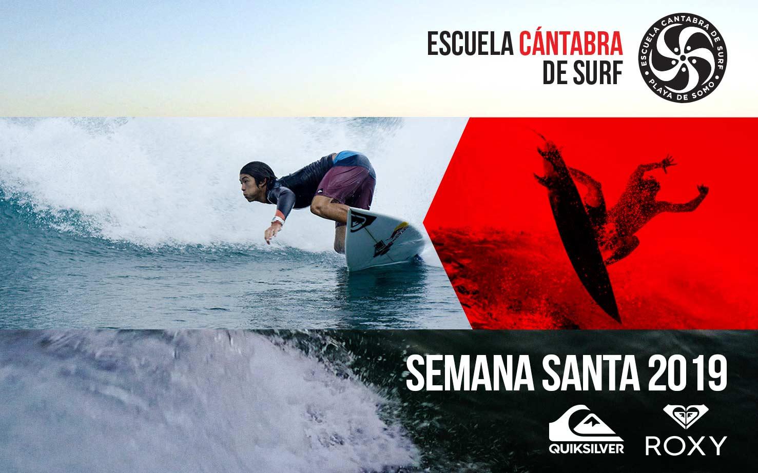 SEMANA SANTA EN LA ESCUELA CANTABRA DE SURF