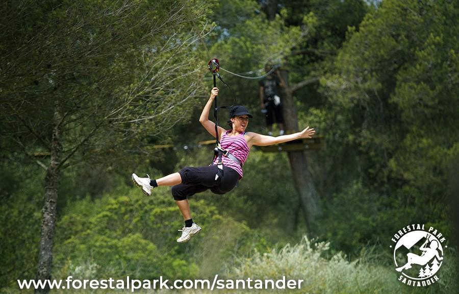 Colaboramos con Forestal Park Santander