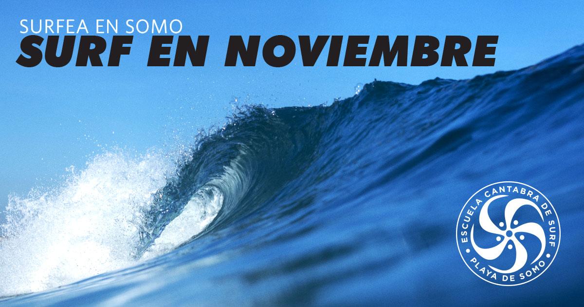 SURF EN NOVIEMBRE