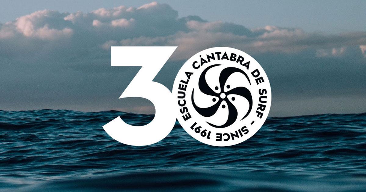 30 ANIVERSARIO ESCUELA CÁNTABRA DE SURF
