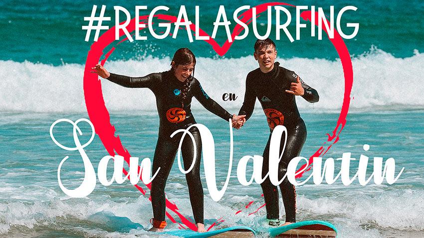 San Valentín en la Escuela Cántabra de Surf