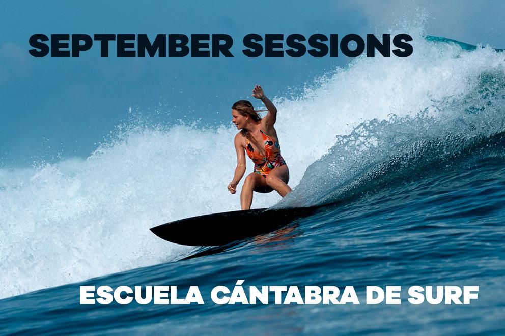 SEPTIEMBRE EN LA ESCUELA CÁNTABRA DE SURF