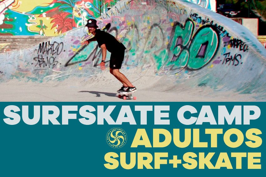SURFSKATE CAMP ADULTOS