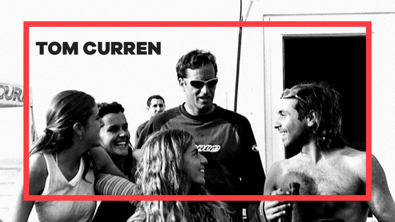 Tom Curren en la Escuela Cántabra de Surf